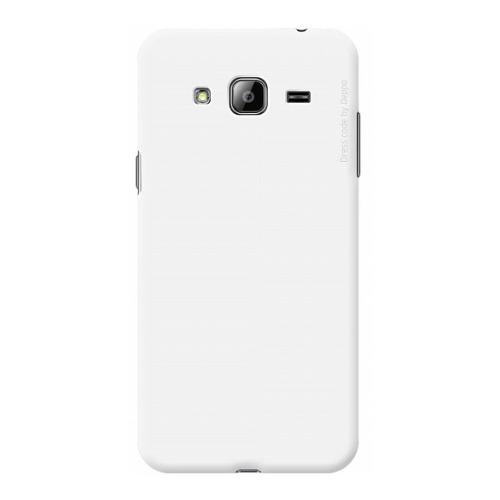 Накладка пластиковая Deppa Air Case Samsung Galaxy J3 (2016) White фото
