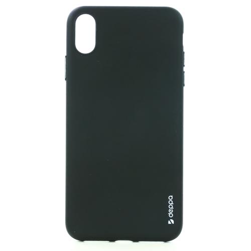 Накладка силиконовая Deppa Gel Color Case iPhone XS Max Black фото
