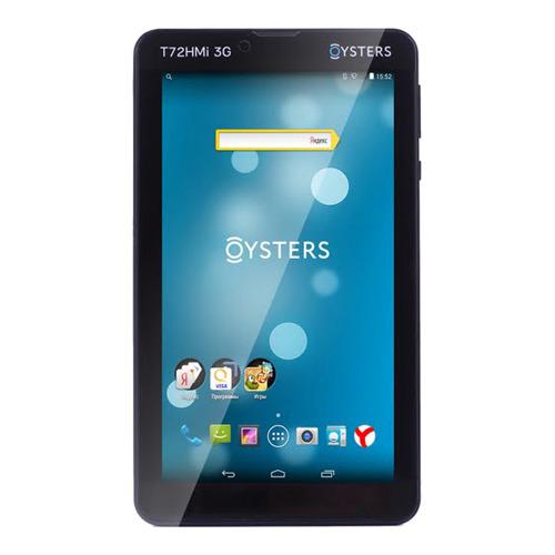 "Планшет Oysters T72HMi 3G (MediaTek MT8312/7""/1Gb/4Gb) Black фото"