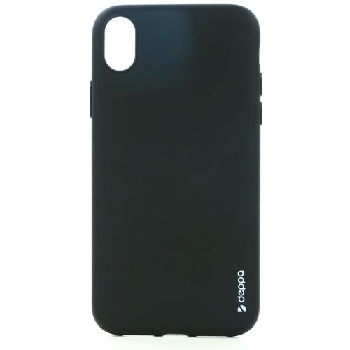 Накладка силиконовая Deppa Gel Color Case iPhone XR Black фото