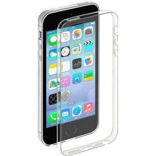 Накладка силиконовая Deppa Gel Case iPhone 5/5S/SE Clear фото