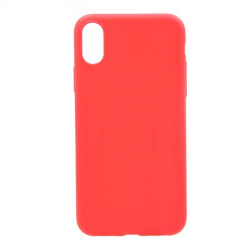 Накладка силиконовая Anycase Iphone X Matt Red фото