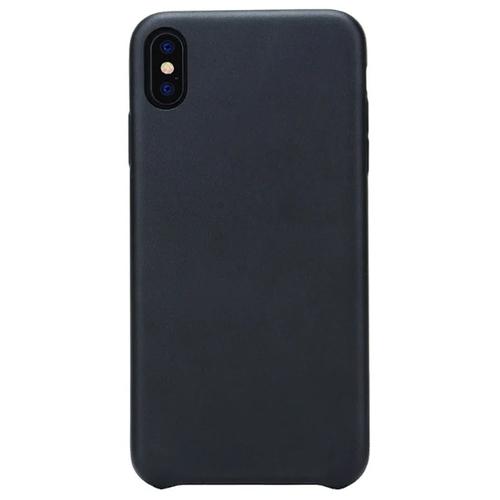 Накладка кожаная G-Case Slim Premium для IPhone XS Max Black фото