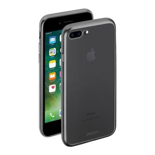 Накладка силиконовая Deppa Gel Plus Case iPhone 7 Plus Mat Graphite фото