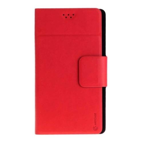"""Чехол-книжка Anycase Wallet Fold M универсальный (4.3""""-5.5"""") Red фото"""